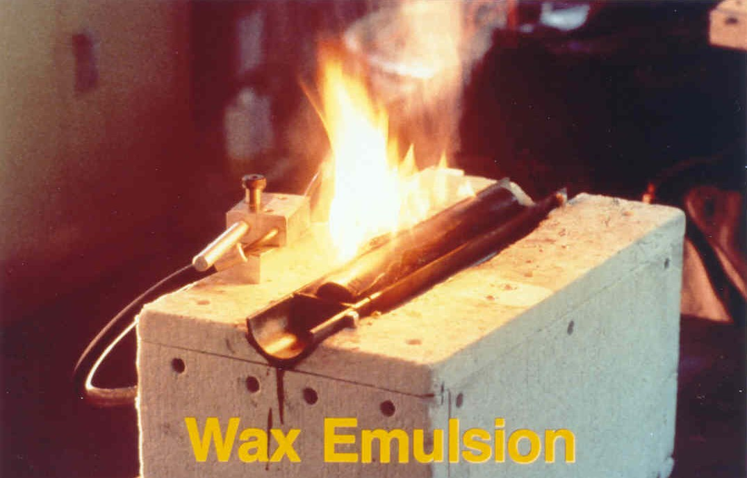 Wax-Based Cable Pulling Lubricant Residue is Combustible and Can Spread Fire through Conduit Systems.