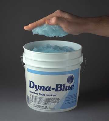 Dyna-Blue® Heavy Duty Cable Pulling Lubricant -- For Electrical ...