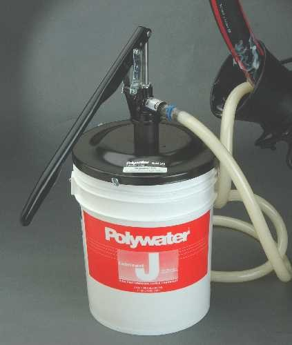 Pump Model LP-3 for 5-gallon pails  (hand-operated).