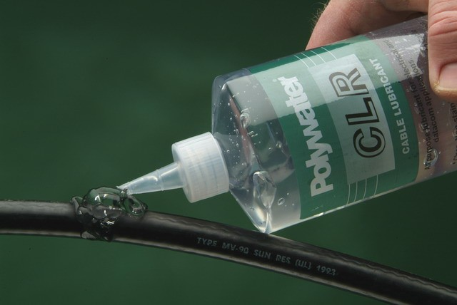 Polywater® CLR Clear Lubricant -- Clean, Non-Staining Wire Pulling ...